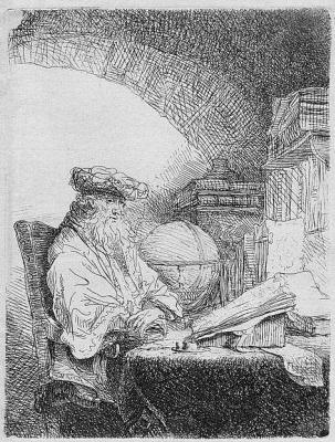 Фердинанд Балтасарс Боль. Астролог