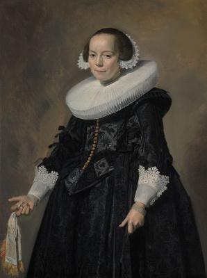 Франс Хальс. Портрет молодой женщины