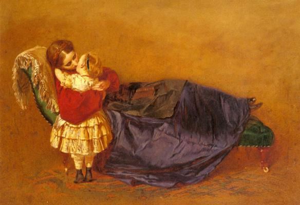 Джордж Элгар Хикс. Мать и ребенок