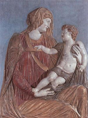 Якопо Сансовино. Мадонна с младенцем
