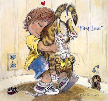 Гэри Паттерсон. Любовь ребенка к коту