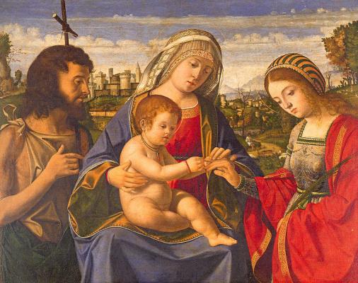Андреа Превитали. Богородица с младенцем
