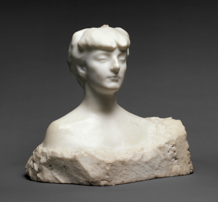Auguste Rodin. Madame X (Countess Anna-Elizabeth de I'm right here)