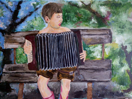 "Rene Rene Maksimenko. ""Accordion"""