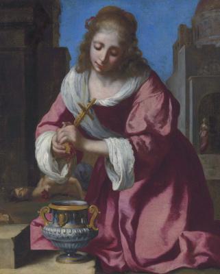 Jan Vermeer. Holy Praxeda