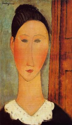 Амедео Модильяни. Портрет молодой женщины