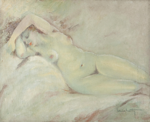 Icarus Louis France 1888 - 1950. Nude