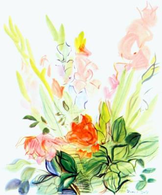 Raoul Dufy. Gladiolus