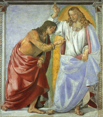 Luke Signorelli. Christ