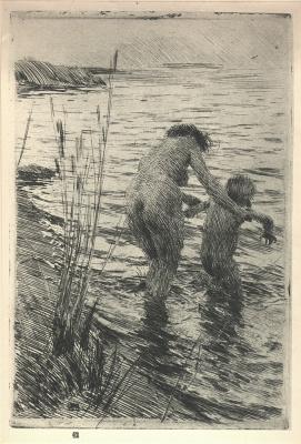 Anders Zorn. Bathing