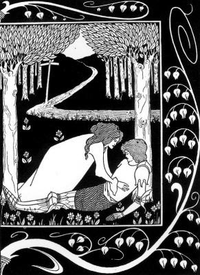 Aubrey Beardsley. Death of Arthur