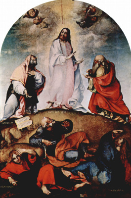 Lorenzo Lotto. The Transfiguration Of Christ