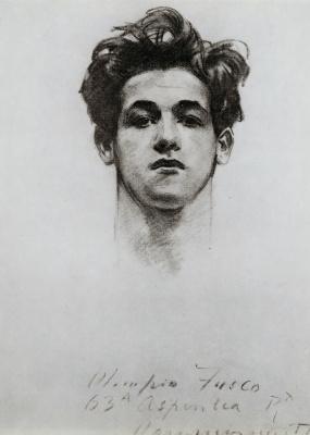 John Singer Sargent. Olimpio Fusco