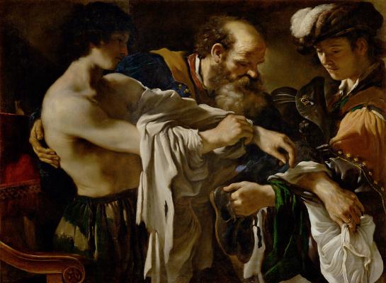 Giovanni Francesco Guercino. Return of the prodigal son