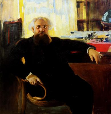 Alexander Murashko. Portrait Of A. V. Prahov