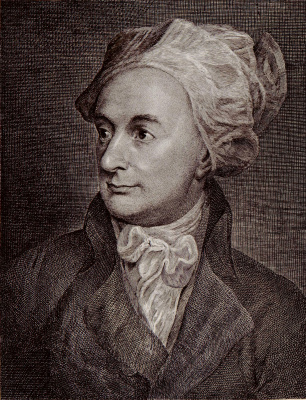 William Blake. Portrait Of William Cowper
