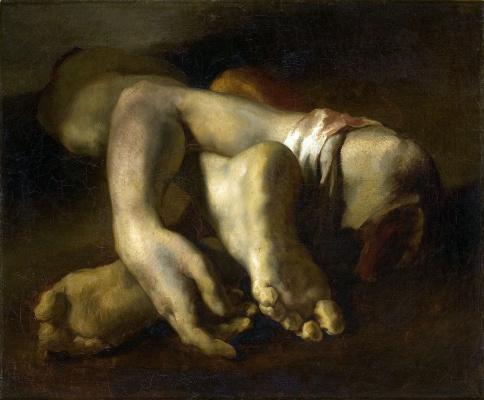 Теодор Жерико. Руки и ноги. Анатомический этюд