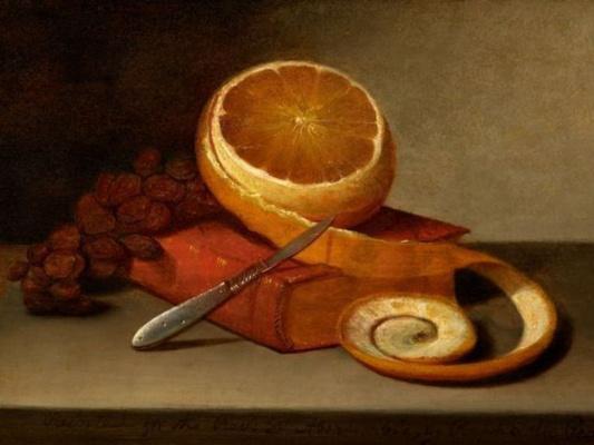 Апельсин и книга