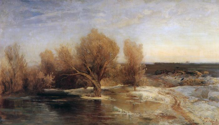 Alexey The Kondratyevich Savrasov. Spring