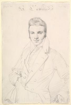 Jean Auguste Dominique Ingres. Jean Joseph Fournier
