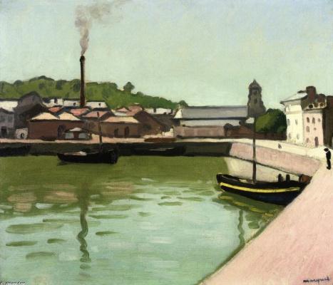 Albert Marquet. Honfleur. Port