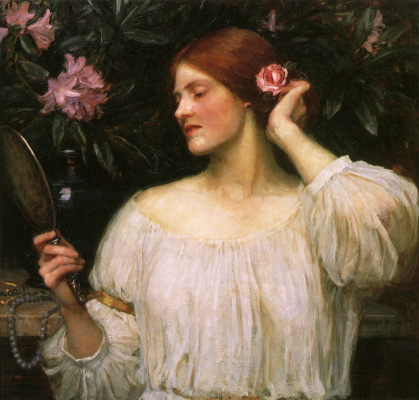 John William Waterhouse. Vanity
