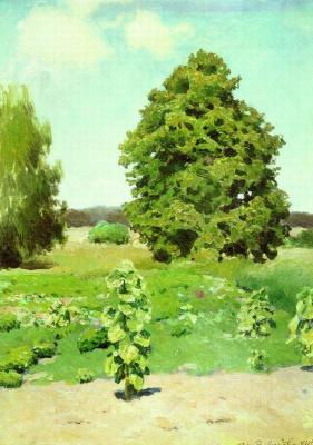 Apollinarius Mikhailovich Vasnetsov. Summer day