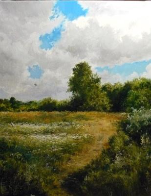 Vladimir Kimovich Vakhrushev. Water meadow
