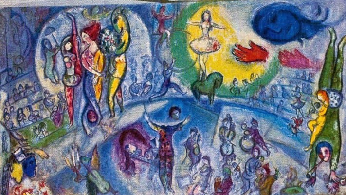 Marc Chagall. Le Grand Cirque