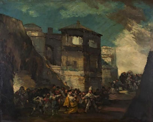 Francisco Goya. The Carnival