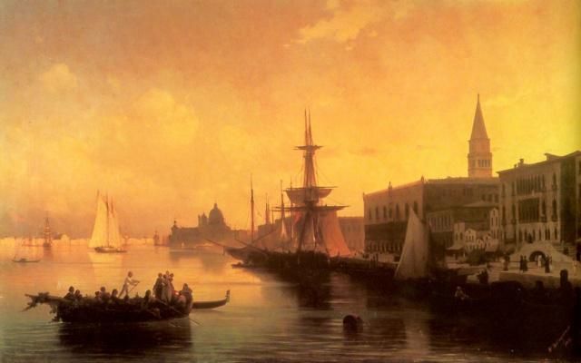 Ivan Aivazovsky. Venice