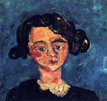 Хаим Соломонович Сутин. Портрет молодой женщины (Полетт Журден)