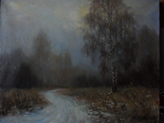 Александр валерьевич петухов. Осенний туман