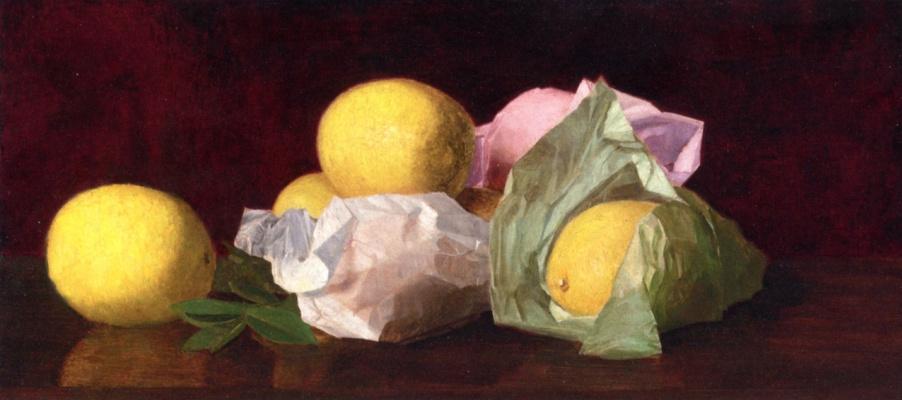 Уильям Джозеф МакКлоски. Лимоны