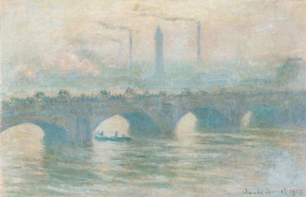 Claude Monet. Waterloo Bridge