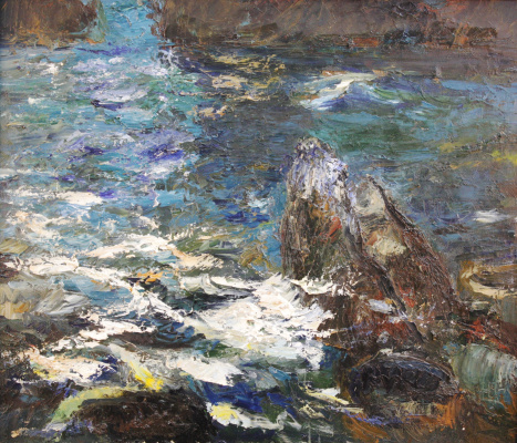Alexey Mikhailovich Artamonov. The black sea