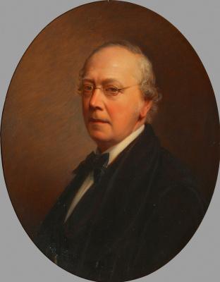 Josef Neugebauer. Self-portrait