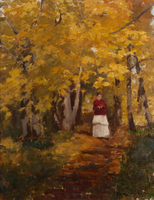 Константин Алексеевич Коровин. В парке