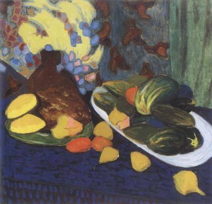 Александр Константинович Богомазов. Still Life with Vegetables and Fruits