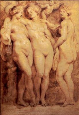 Peter Paul Rubens. The three graces
