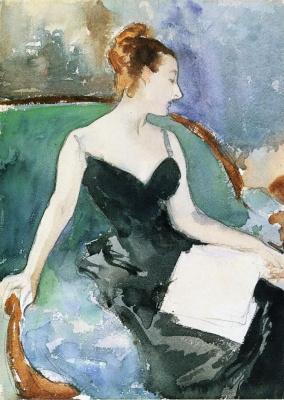 John Singer Sargent. Madame Gotra