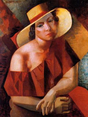 Андре Лот. Соломенная шляпа