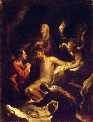 Хосе де Антолинес. Снятие с креста