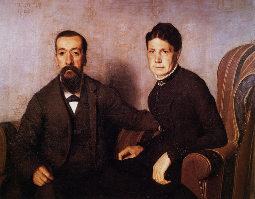 Felix Vallotton. The parents of the artist