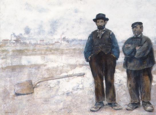 Жан-Франсуа Рафаэлли. Двое рабочих