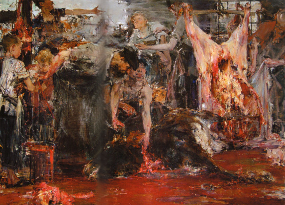 Nikolay Feshin. Slaughter