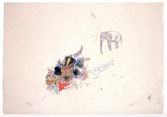 Jean-Michel Basquiat. Untitled (Elephant)
