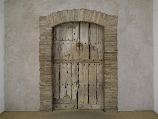 Marcel Duchamp. Given: 1. The Waterfall, 2. The Illuminating Gas... (Étant donnés: 1° la chute d'eau, 2° le gaz d'éclairage...)