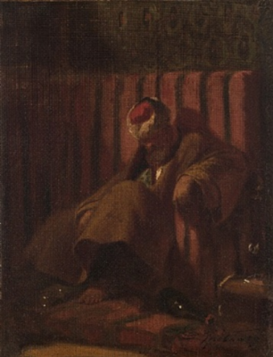 Карл Шпицвег. Запретное вино