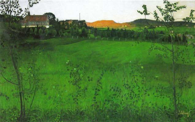 Harald Oskar Sohlberg. Ripe Fields